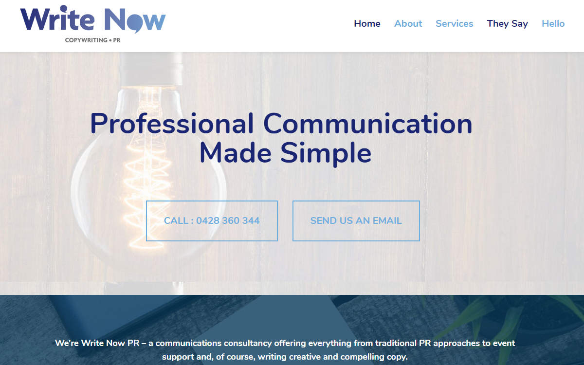 Website copywriting services sydney